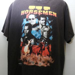1998 Vintage WCW Wrestling The IV HORSEMEN Tshirt